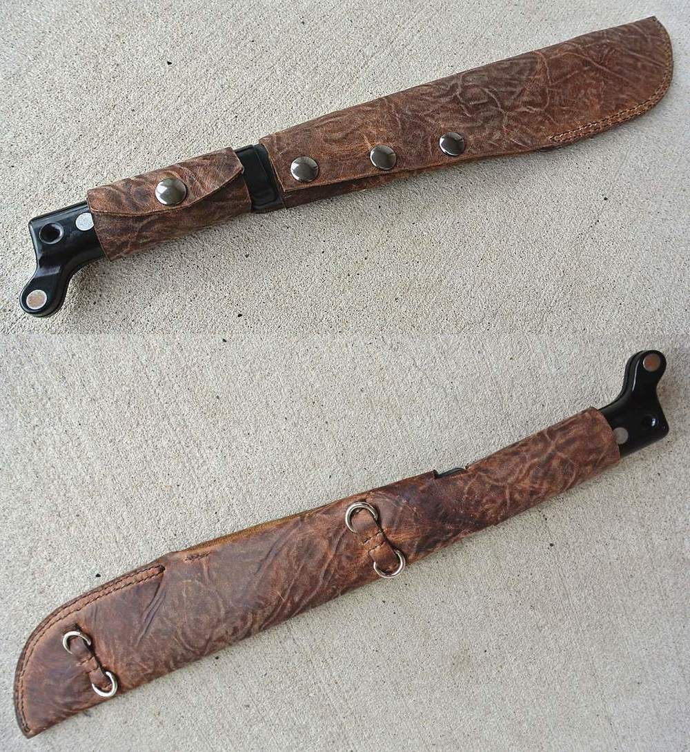 Leather Sheath - Machete!