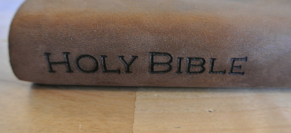 Circle M Brand - Holy Bible leather heat engraved.JPG
