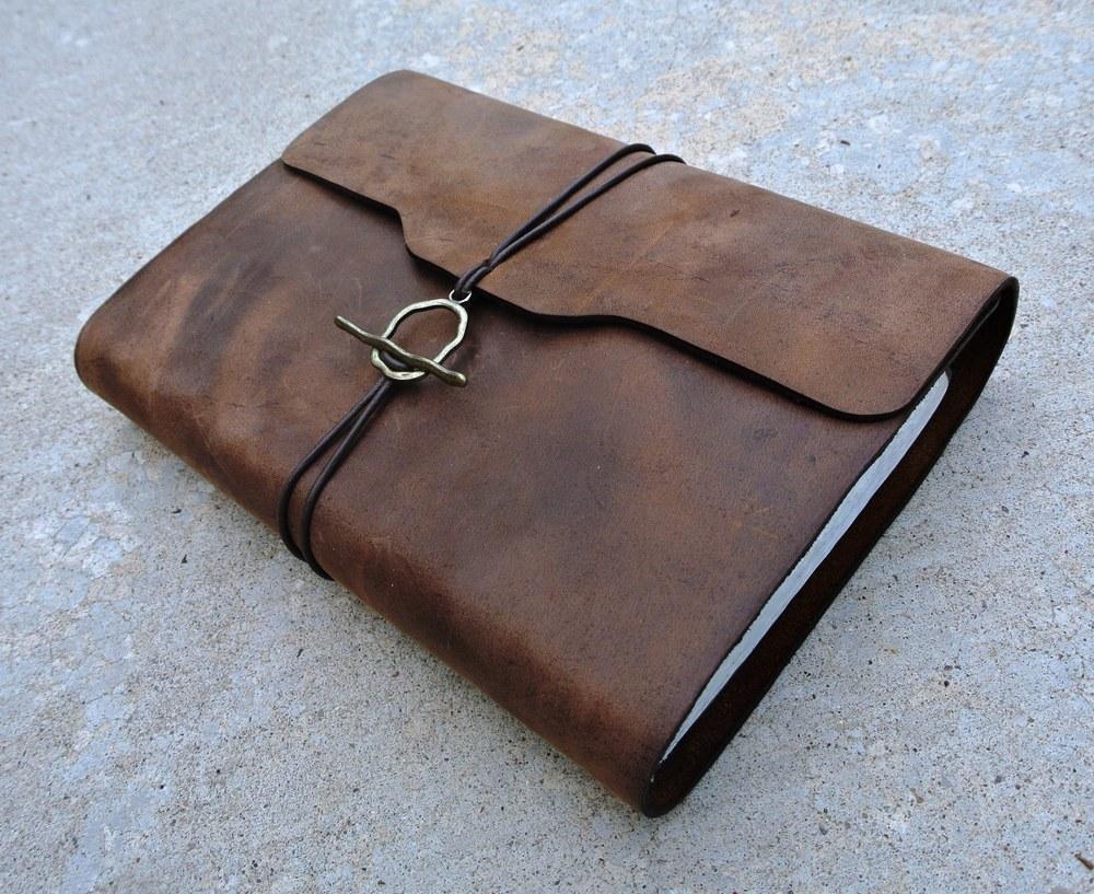 Circle M Brand - custom re-bound leather Bible.JPG
