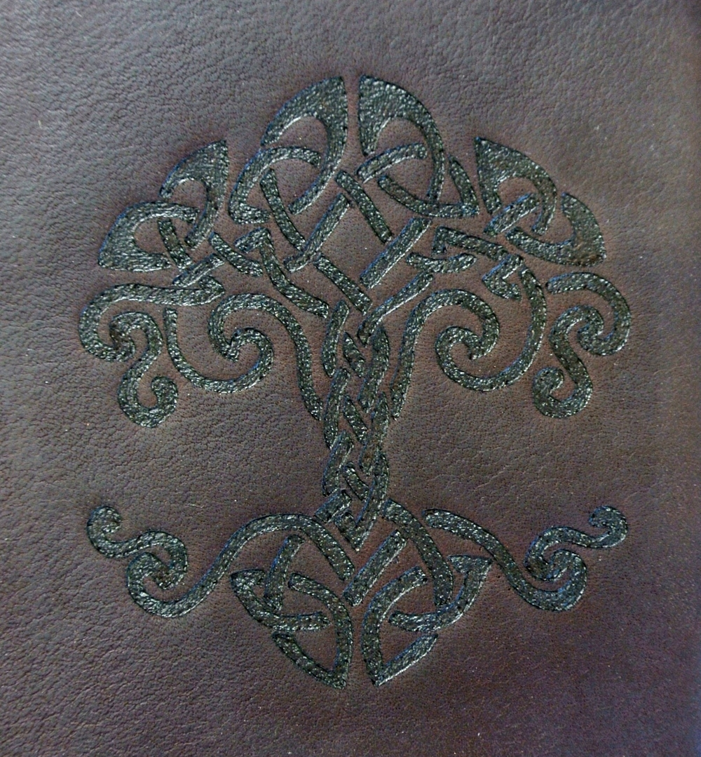 Circle M Brand - leather Heat Engraving - Tree of Life.JPG