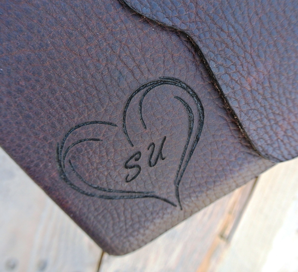 Circle M Brand - heart and initials heat engraved.JPG