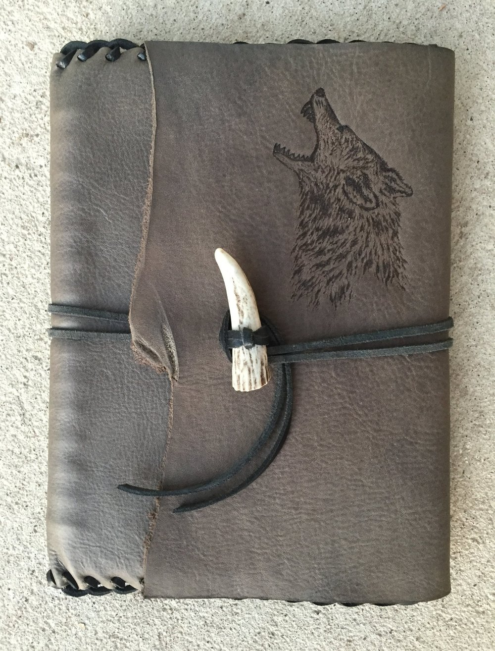 Circle M Brand - Book Cover (Wolf engraved).JPG