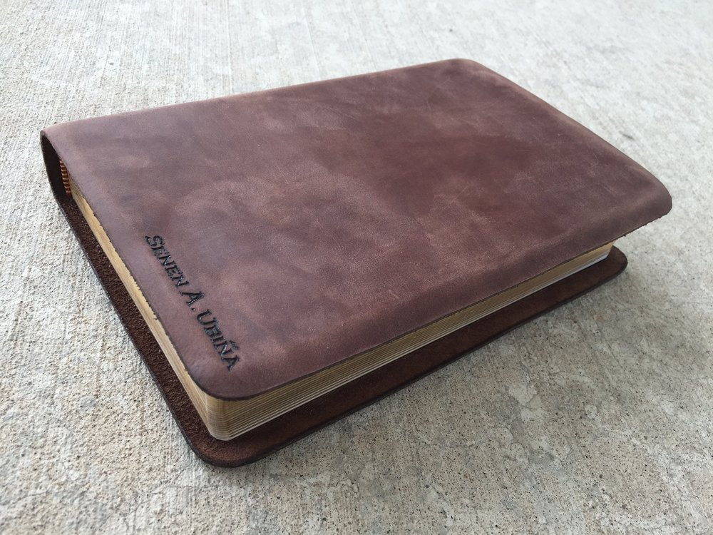 Circle M Brand - Bible KJV (traditional with name engraved).JPG