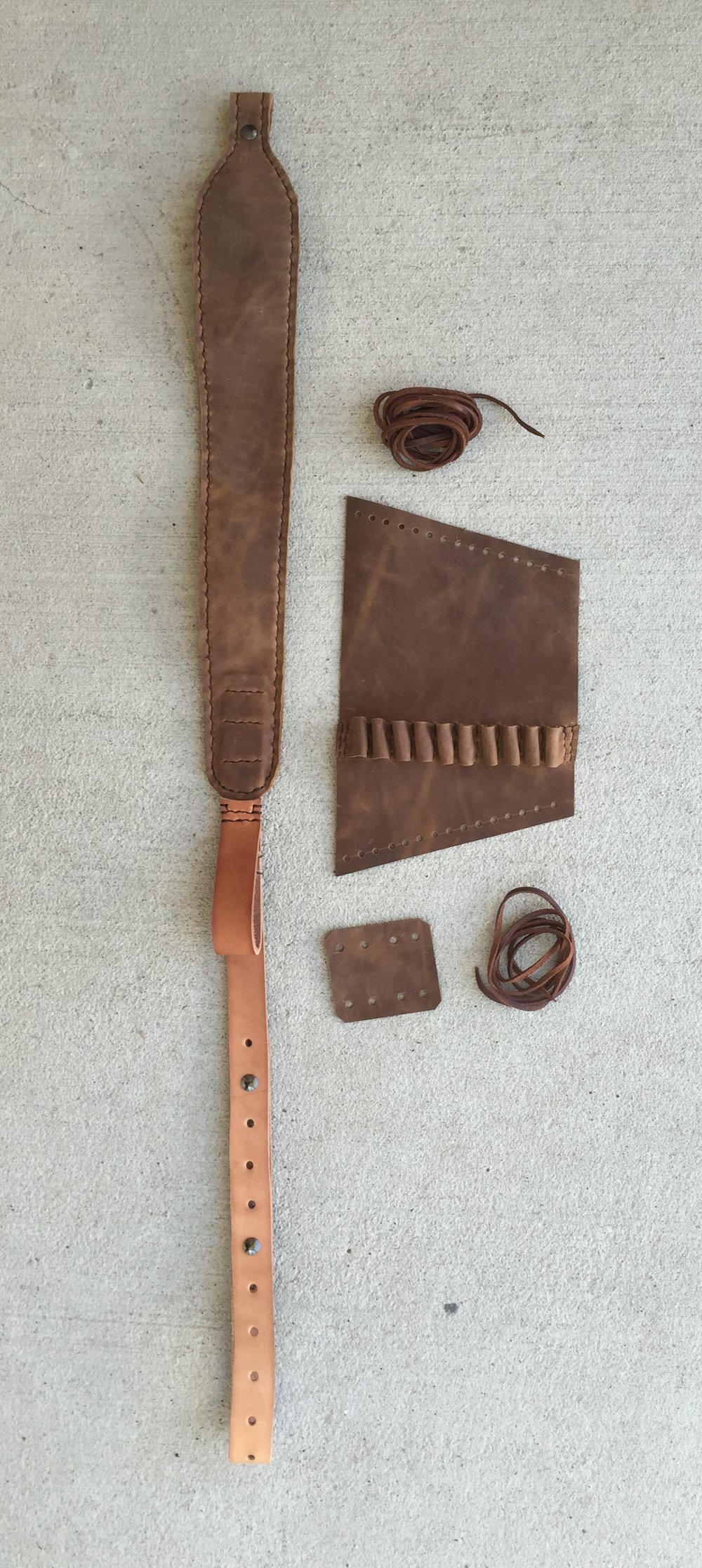 Circle M Brand - Sling, Buttstock Cuff, Lever action Wrap.JPG