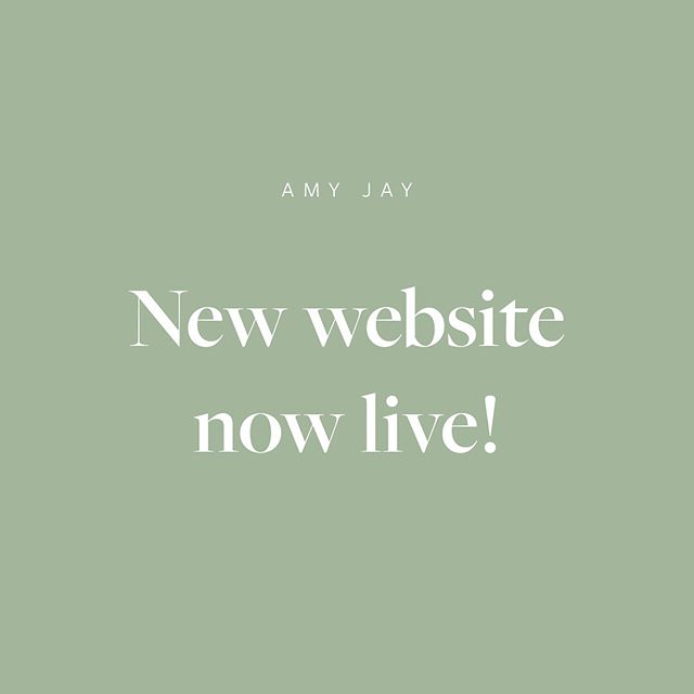 New website now live, link in bio #design #portfolio #website #digital