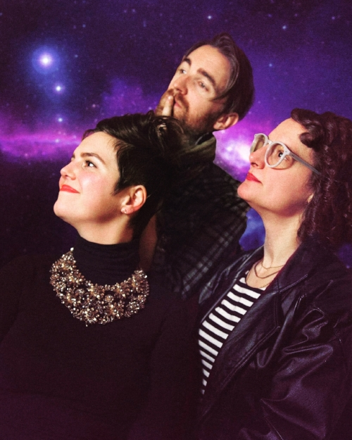 Gladys Bikes Staff Photo/Album Cover. 🌌 Come get weird with us.