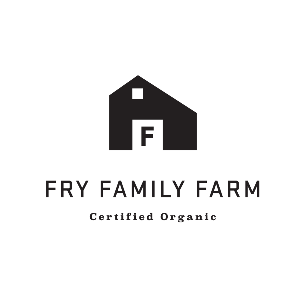 Fry Family Farm logo by Mark Mularz, Fetch Design
