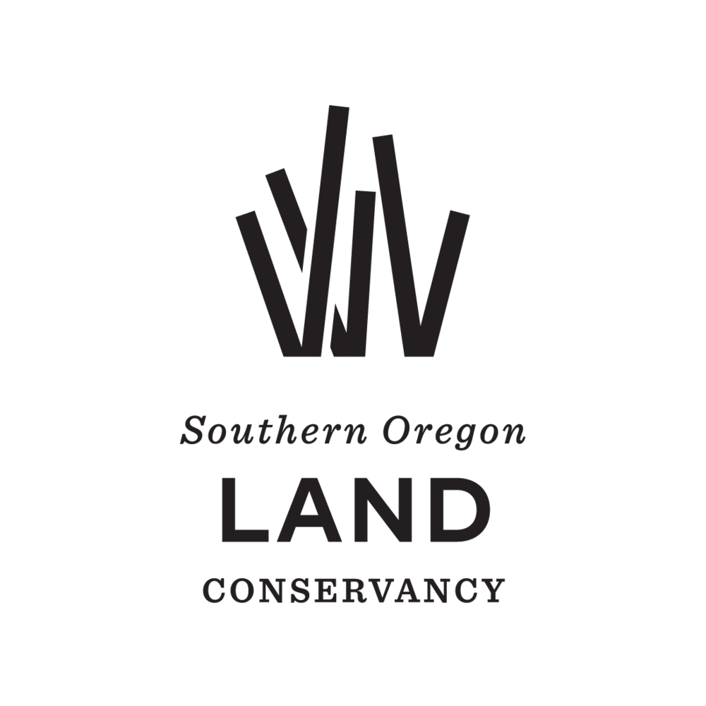Southern Oregon Land Conservancy logo by Mark Mularz, Flip Design