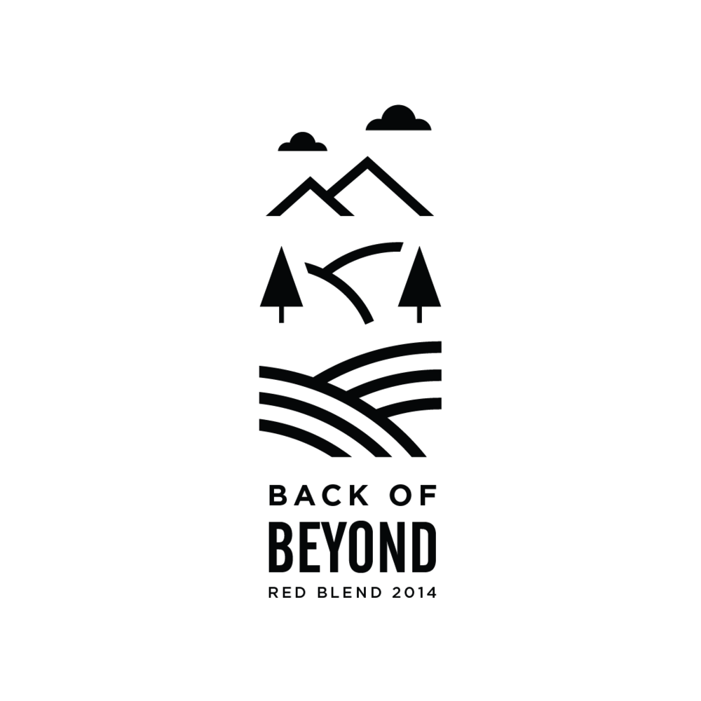 Back of Beyond logo by Mark Mularz, Flip Design