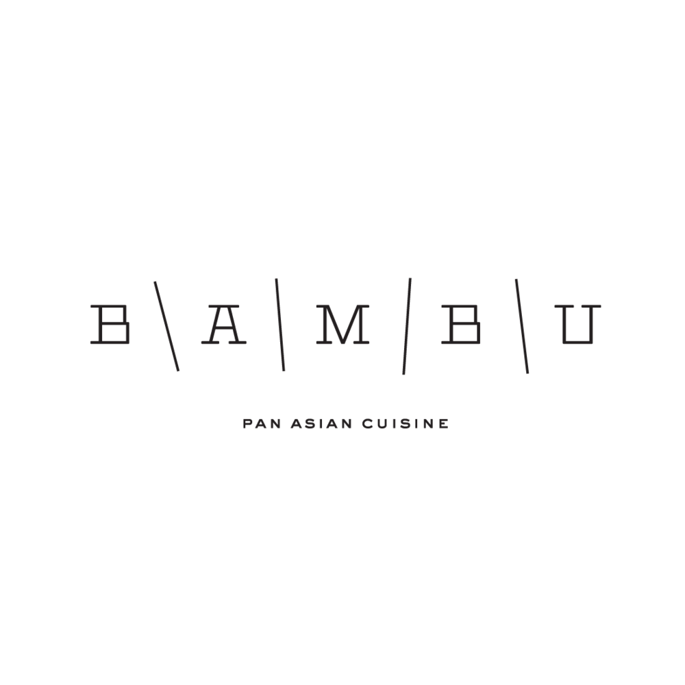 Bambu Restaurant logo by Mark Mularz, Flip Design