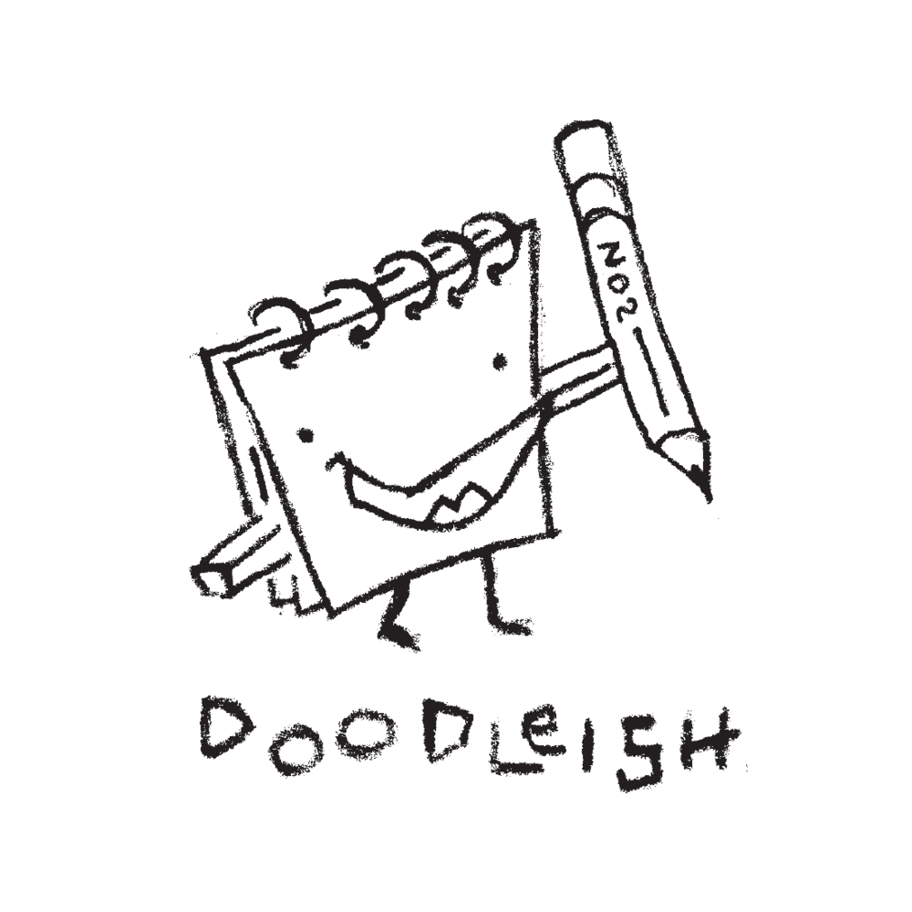 Doodleish logo by Mark Mularz, Flip Design
