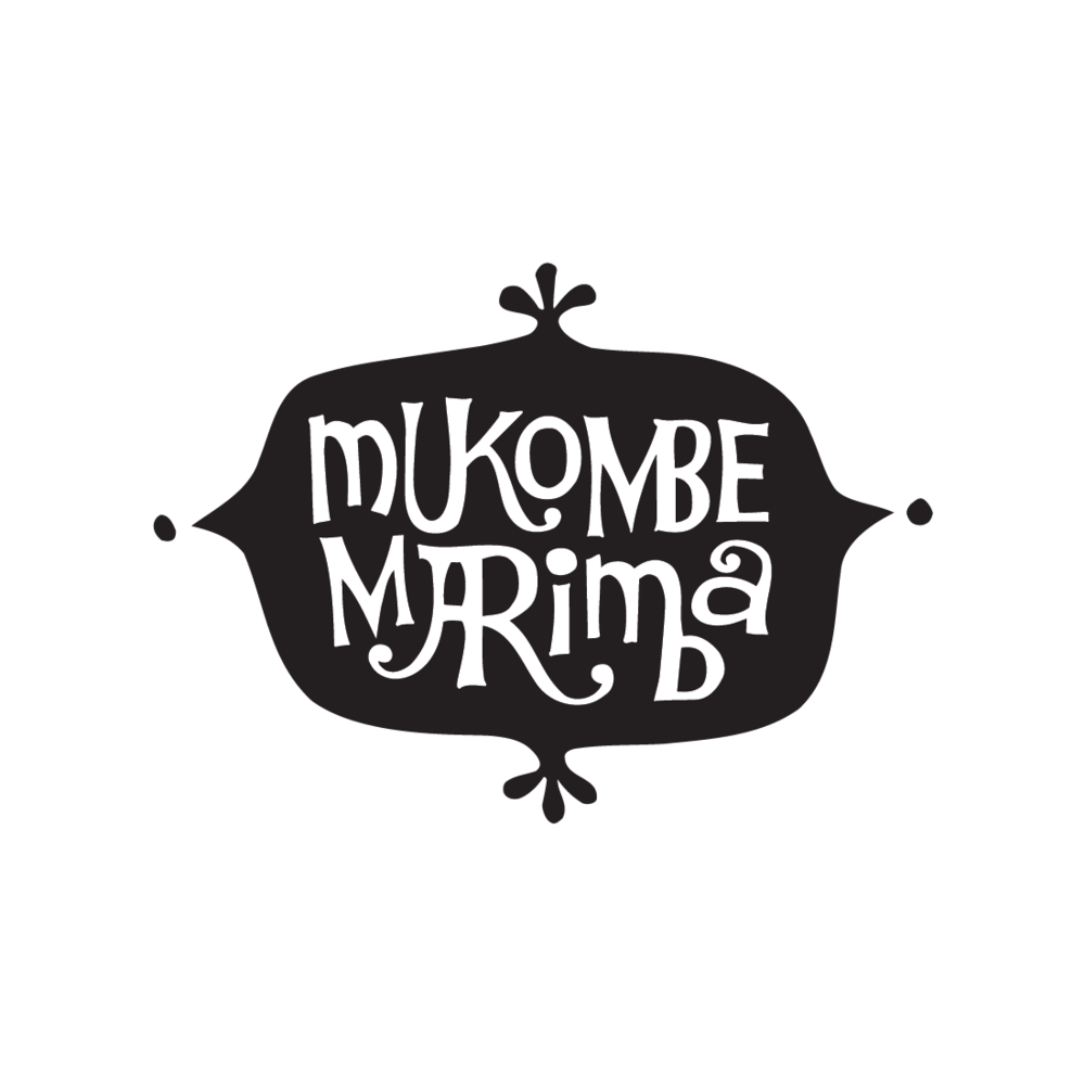 Mukombe Marimba logo by Mark Mularz, Flip Design
