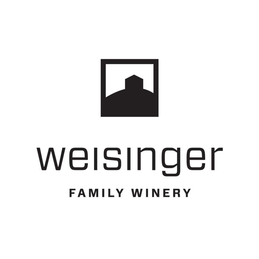Weisinger Family Winery logo by Mark Mularz, Flip Design