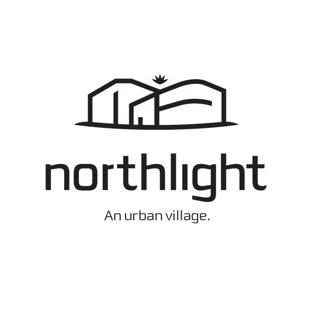 Northlight Urban Village logo by Mark Mularz, Fetch Design