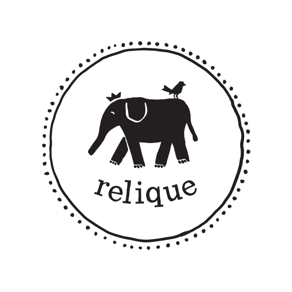 Relique logo by Mark Mularz, Fetch Design