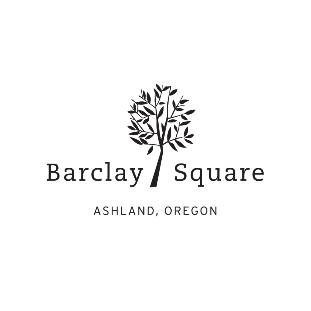 Barclay Square Ashland Oregon logo by Mark Mularz, Flip Design