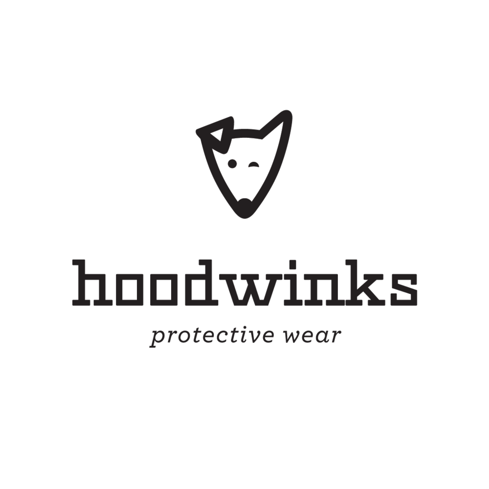 Hoodwinks Protective Wear logo by Mark Mularz, Fetch Design