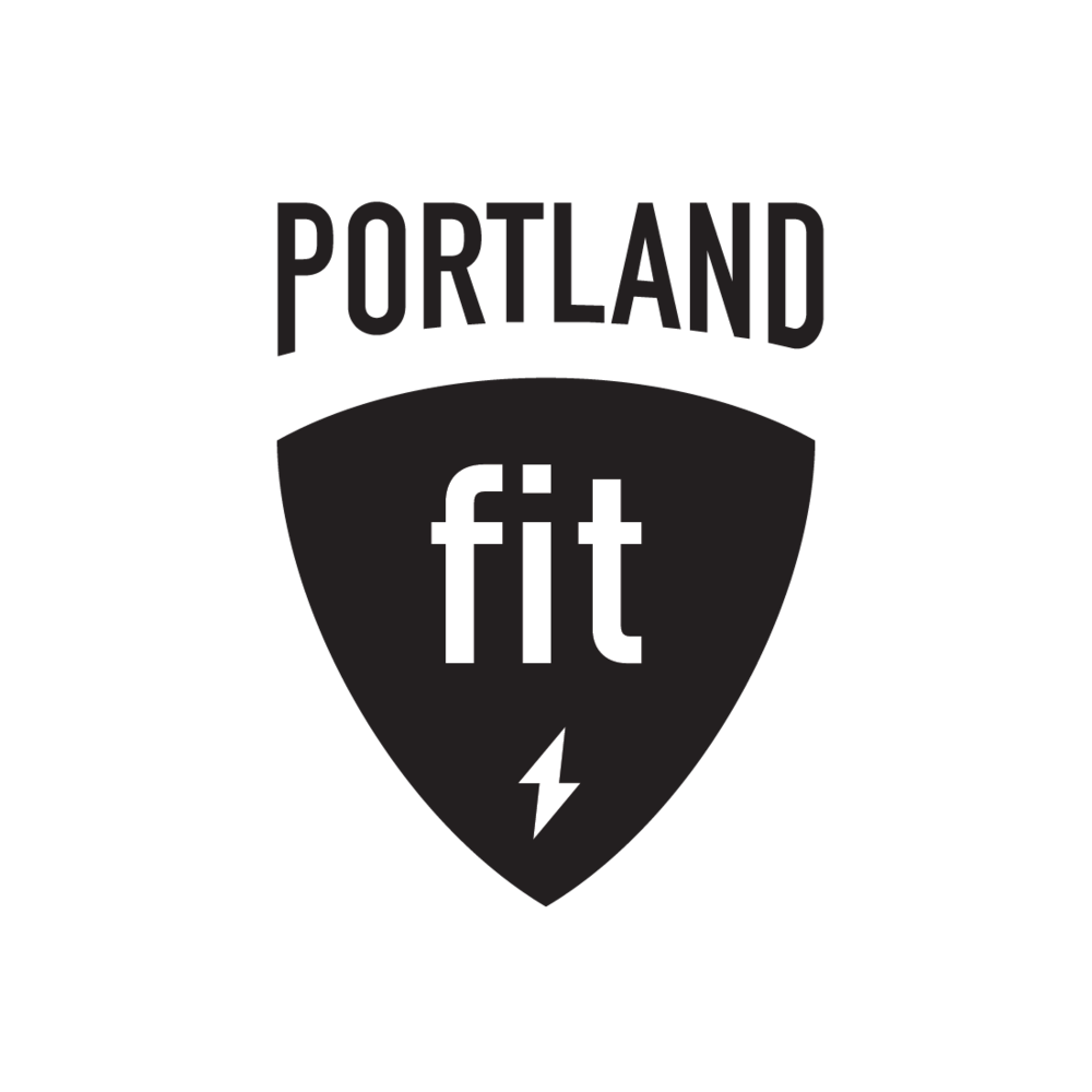 Portland Fit of Portland, Oregon logo by Mark Mularz, Fetch Design
