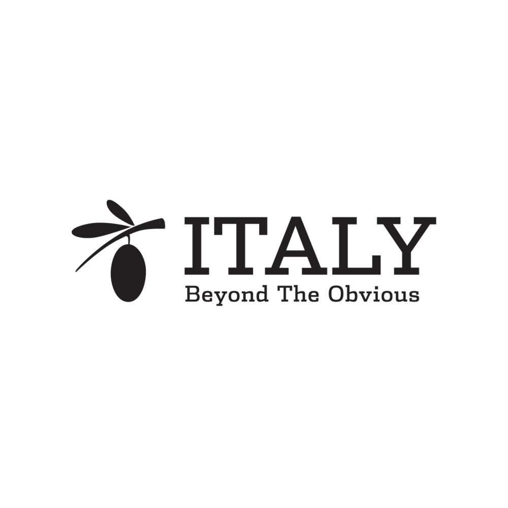 Italy Beyond the Obvious logo by Mark Mularz, Fetch Design