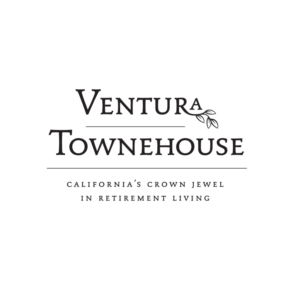 Ventura Townehouse of Ventura, California logo by Mark Mularz, Fetch Design