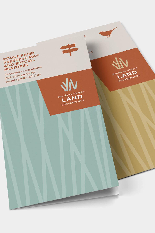 Southern Oregon Land Conservancy brochures