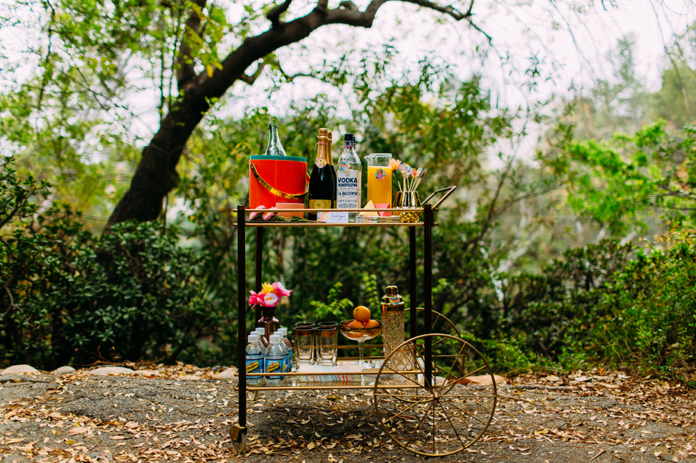 Bar Cart:  Etablir Vintage Event Rentals
