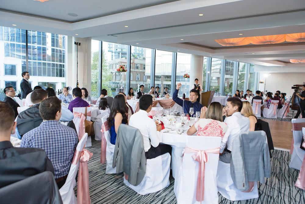 Linda Peter Pacific Rim Fairmont Hotel Vancouver Wedding