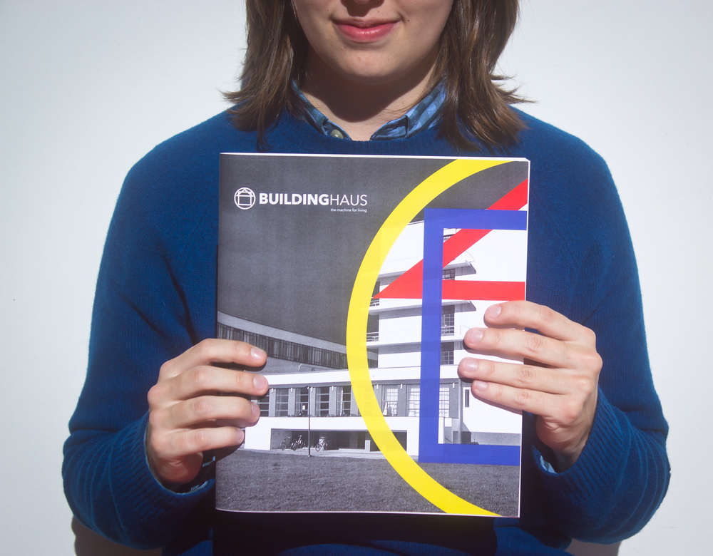 group project: 104-page magazine about the Bauhaus