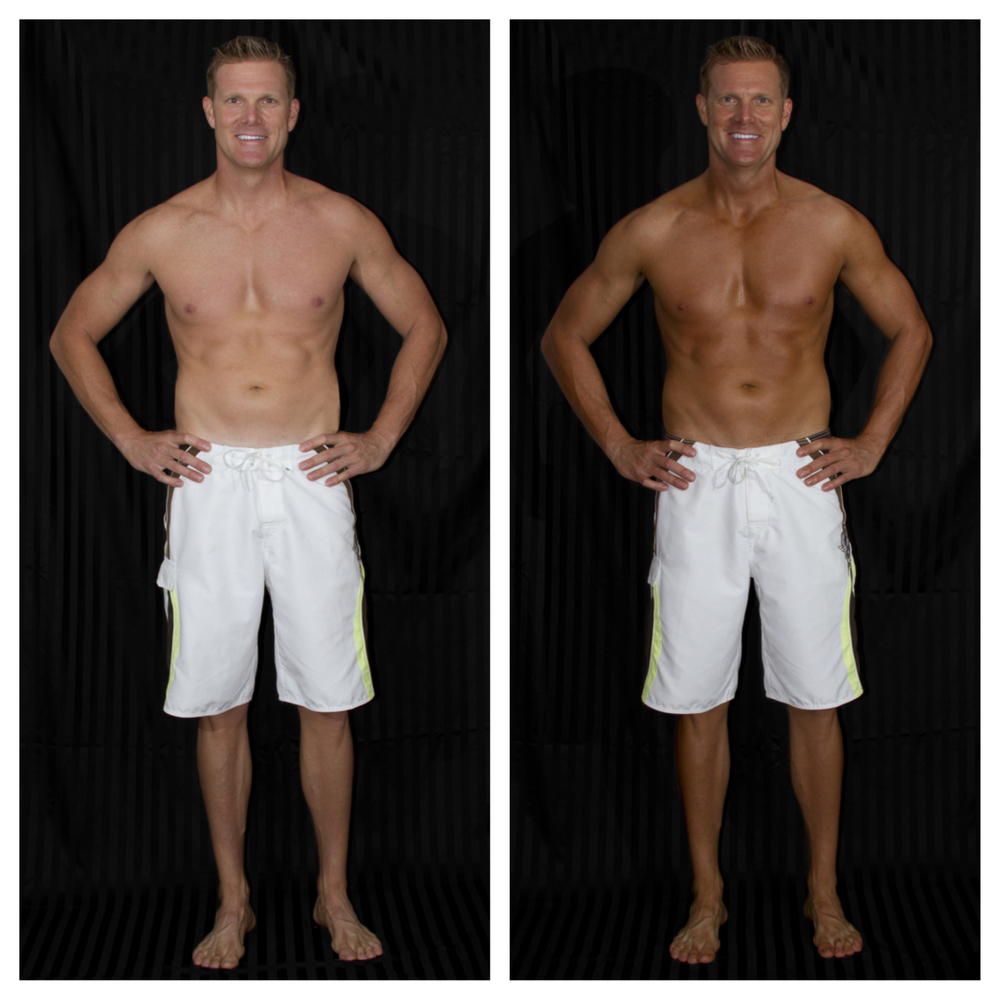Body_bronze_before And After
