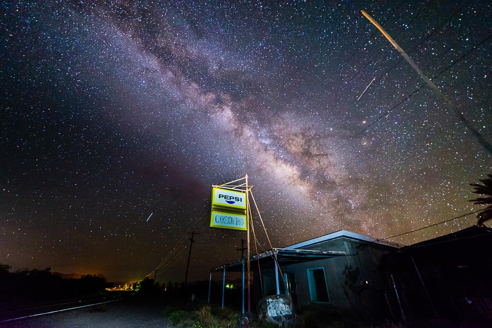 Milky Way, Redford TX
