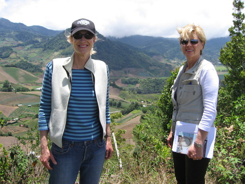 Helen & Brooke at the top of Finca Sophia.jpg