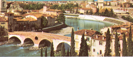 A PANORAMIC VIEW OF VERONA