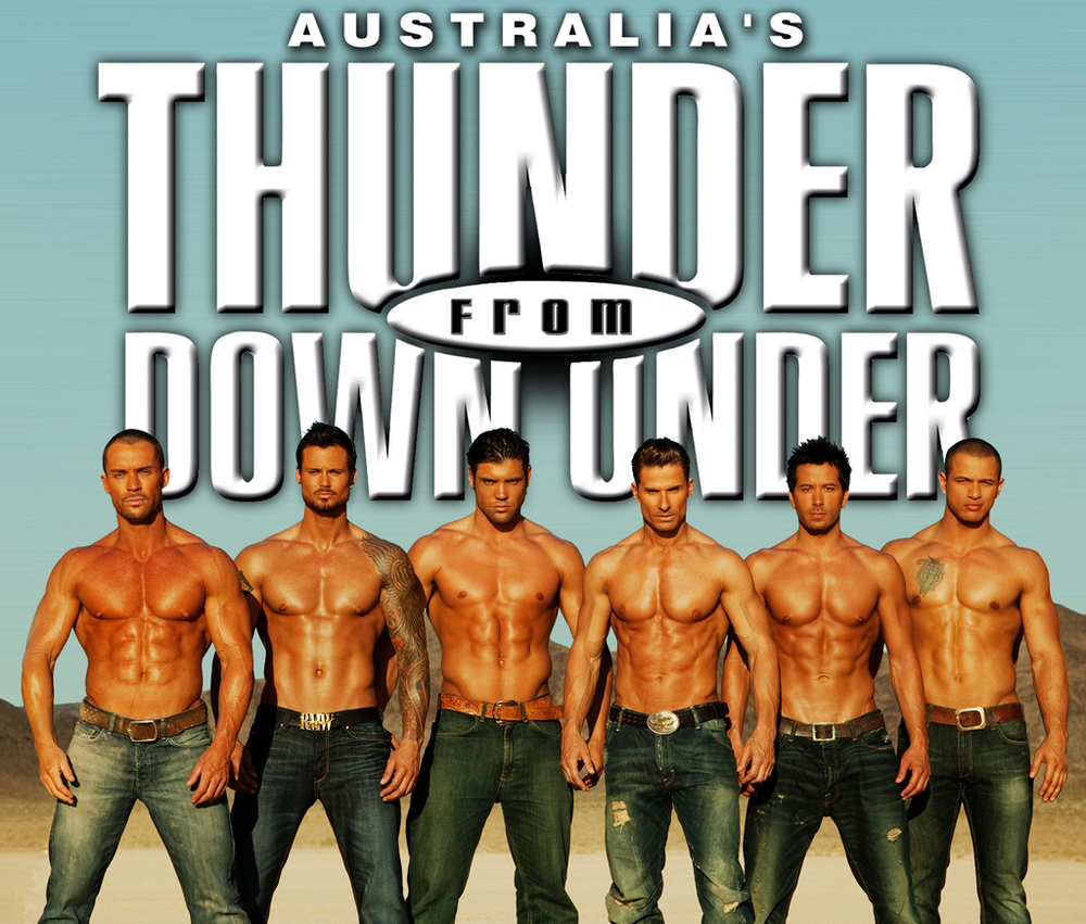 Thunder From Down Under Las Vegaster