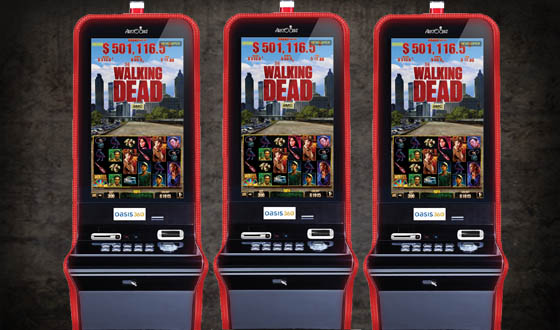 The Walking Dead is 1 of the newest video slots to hit the strip.