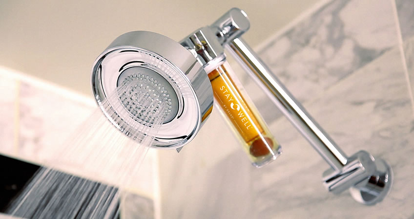 Nothing like a Vitamin B shower to start your day!