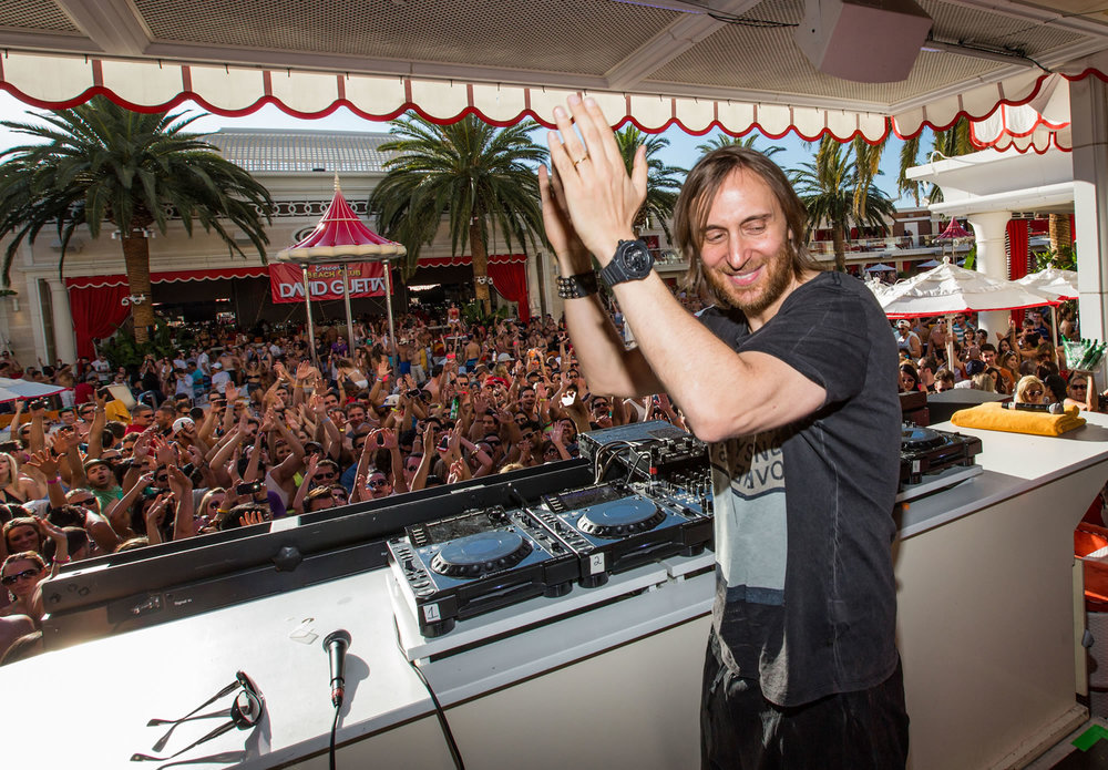 David Guetta at Encore Beach.