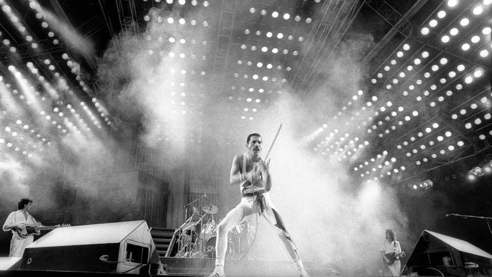 Queen. The real one with Freddie Mercury