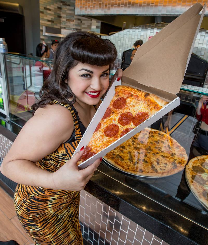 Pin-Up Pizza @ Planet Hollywood