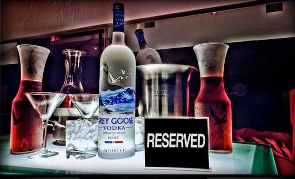 kaos nightclub vip tables and bottle service vegas