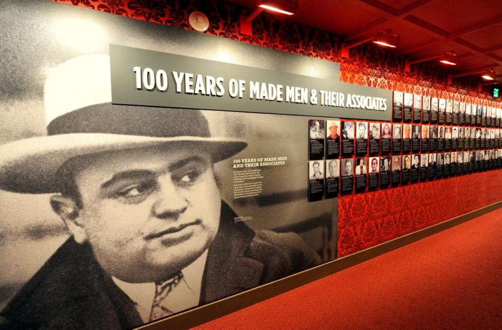 See real mobsters...at the Mob Museum, Downtown Vegas.
