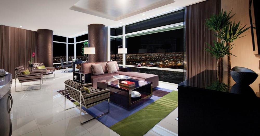 Aria Penthouse Suite. Solid VIP Status.