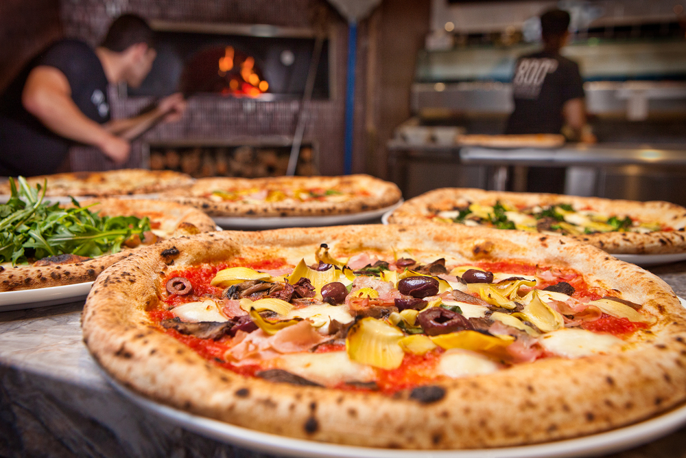 800 Degrees is the fastest, freshest pizza EVER!
