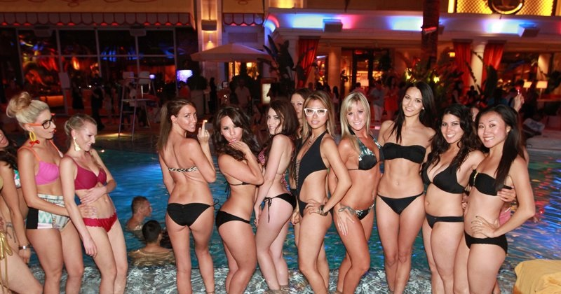 Was bikini parties las vegas color