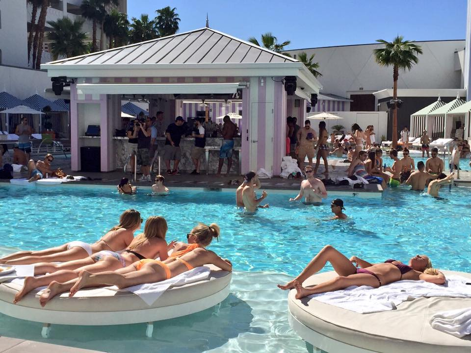 Foxtail Pool Club at SLS Hotel & Casino