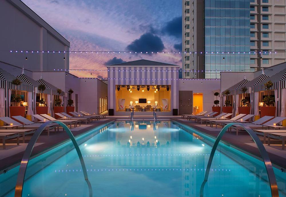 Foxtail Pool VIP Cabana at SLS Hotel & Casino