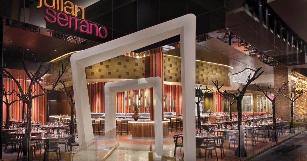 Julian Serrano inside Aria Las Vegas