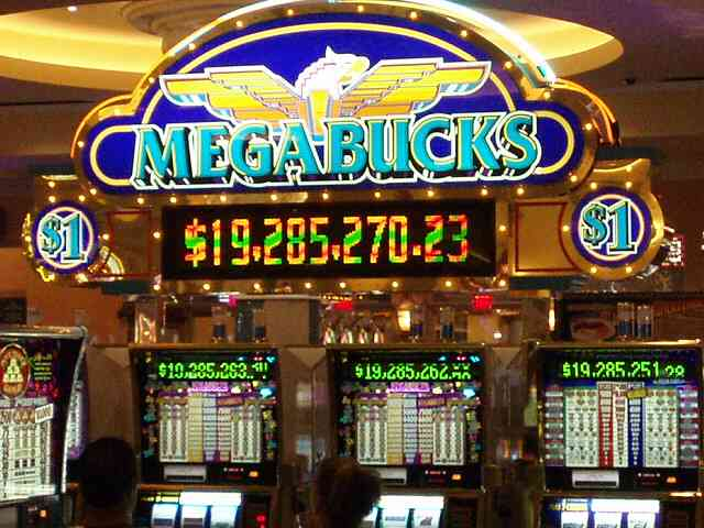 Megabucks Slot Machines can be found up and down the Las Vegas Strip.