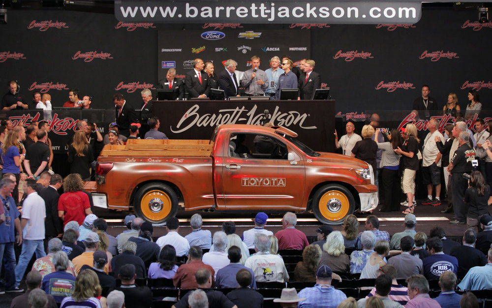 Bring those winnings and grab a new car @ Barrett Jackson Car Show & Auction