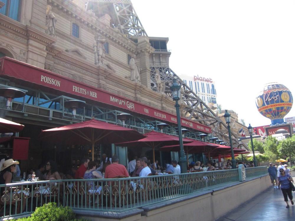 Mon Ami Gabi at Paris Hotel and Casino Las Vegas