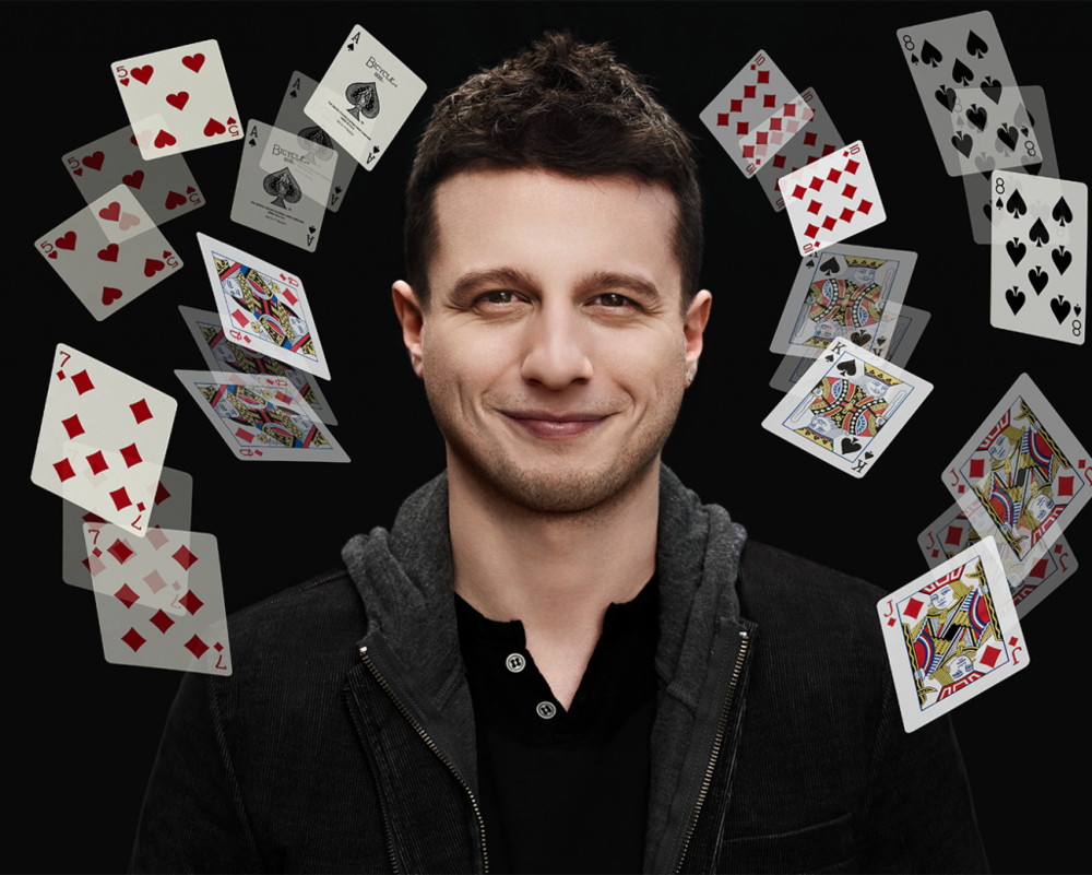 Mat Franco now showing at the Linq Hotel and Casino Las Vegas